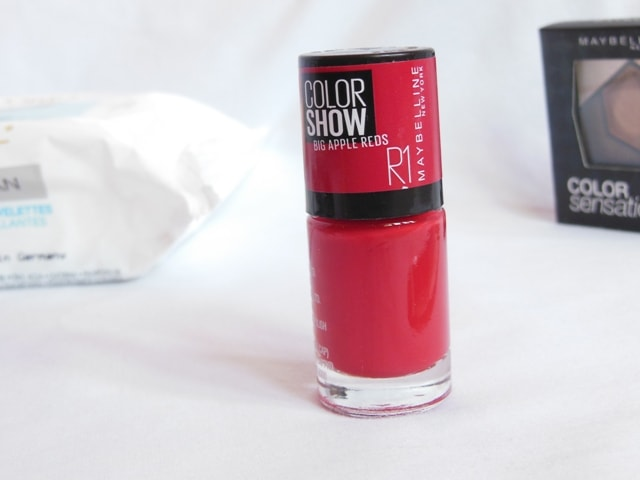Maybelline Big Apple Reds Nail Paint - Paint The Town Red R1