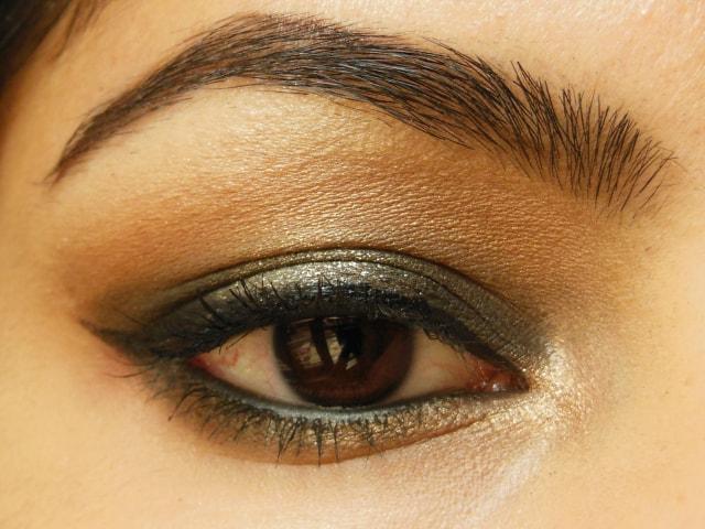 Maybelline Color Sensational Eye Palette Topaz Gold Eyes