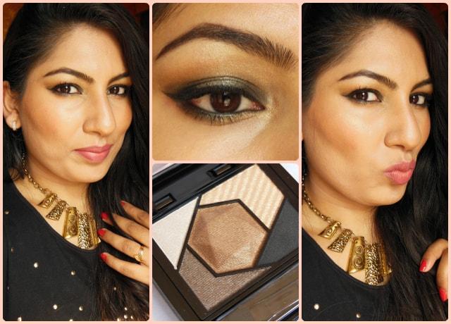 Maybelline Color Sensational Eye Palette Topaz Gold Makeup