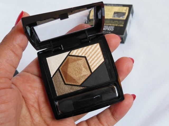 Maybelline Color Sensational Eye Palette Topaz Gold Review