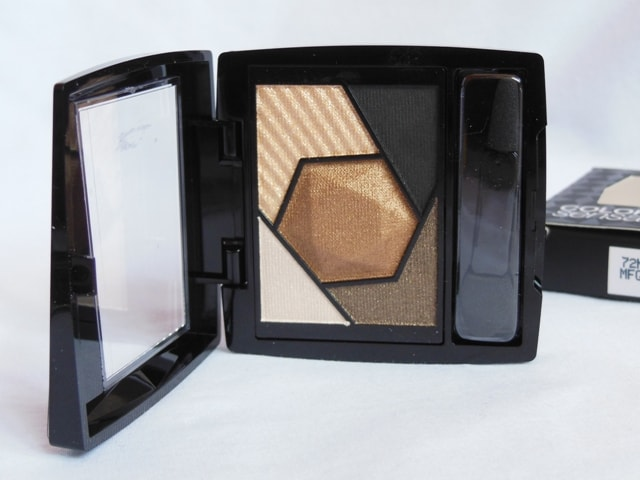 Maybelline Eye Palette Topaz Gold Eyeshadows