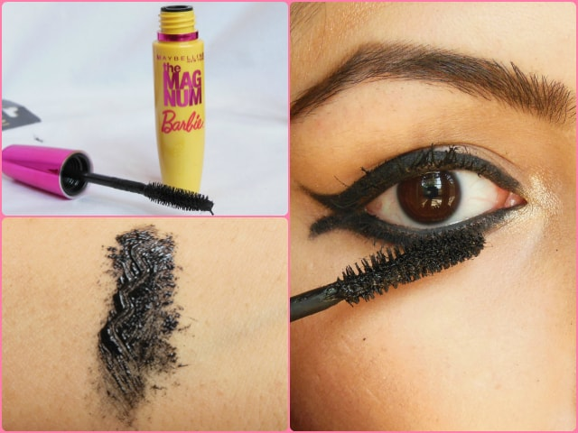 Maybelline the Magnum Barbie Mascara Look