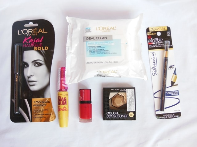 New Makeup Products from Maybelline and L'Oreal Paris