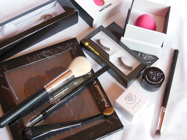 Pac Cosmetics Haul - Makeup and Brushes