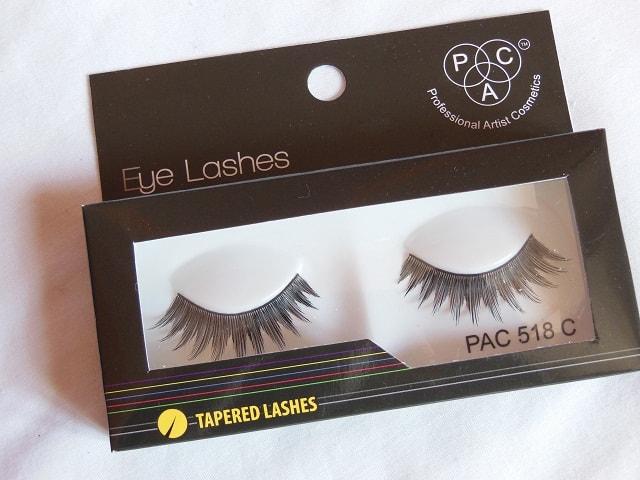 Pac Cosmetics Haul - PAC Cosmetics Eye Lashes