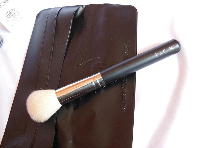 Pac Cosmetics Haul -PAC Face Brush 342