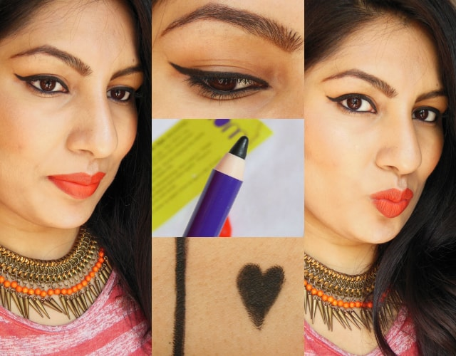 Plum NaturStudio All Day Wear Kohl Kajal FOTD