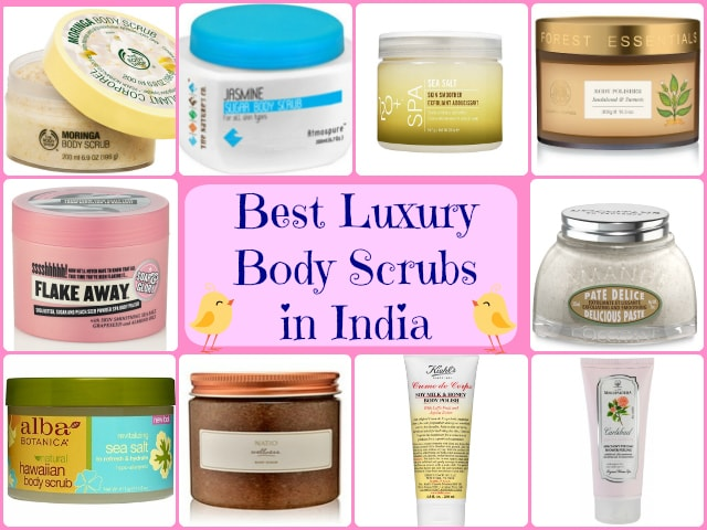 Best Body Scrubs for Dry Skin in India