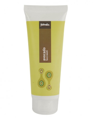 Best Face Washes for Dry Skin India - Fabindia avocado face wash