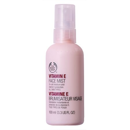 Best Facial Mists In India- The Body Shop vitamin E face mist