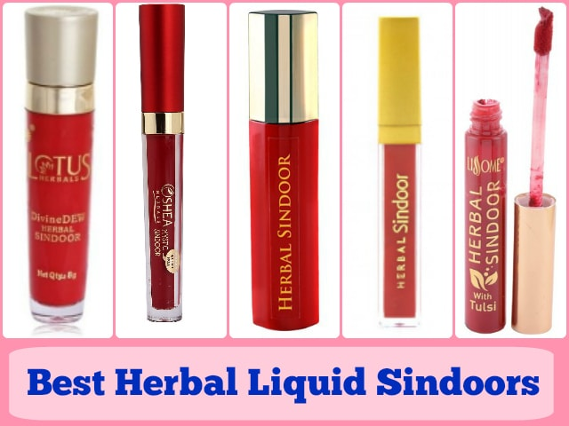 Best Herbal Liquid Sindoors in India