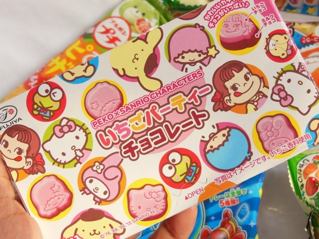 Japan Candy Box March 2016 Character Chocolates