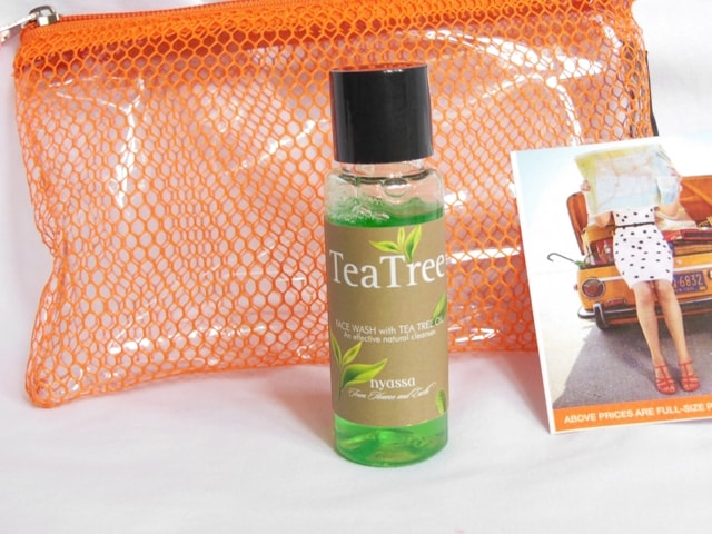 May Fab Bag 2016 - Nyassa Tea Tree Face Wash