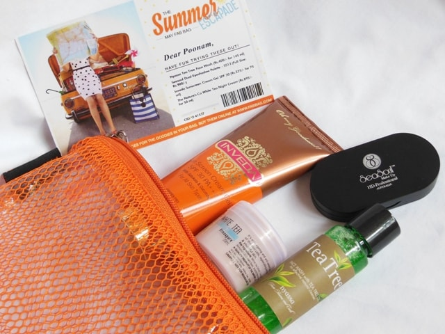 May Fab Bag 2016 - Summer Escapade