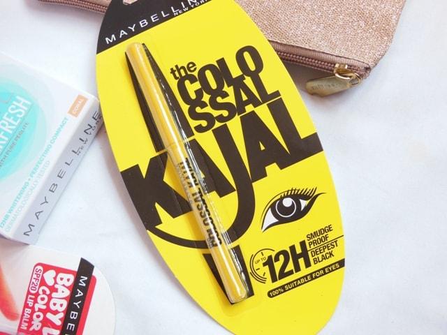 Maybelline Summer Makeup Essentials Kit - Colossal Kajal