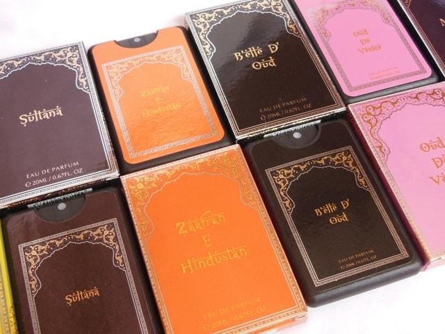 Neesh Eau Da Parfum Women's Collection Packaging