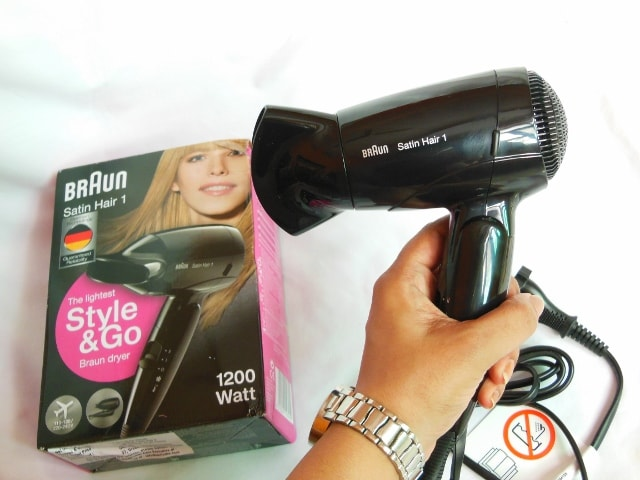 Barun Style and Go Hair Dryer Size