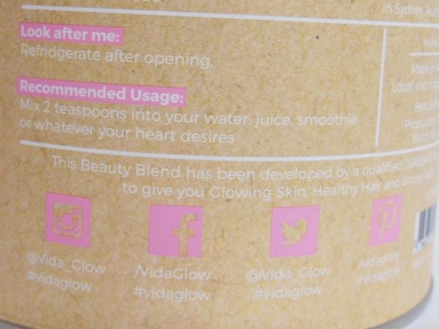 Beauty Blend By Vida Glow Usage