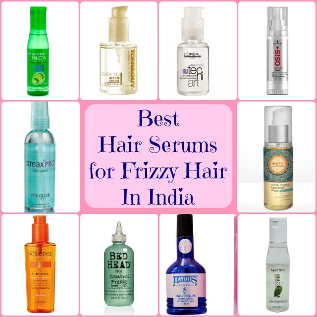 Best Hair Serums for Frizzy Hair In India