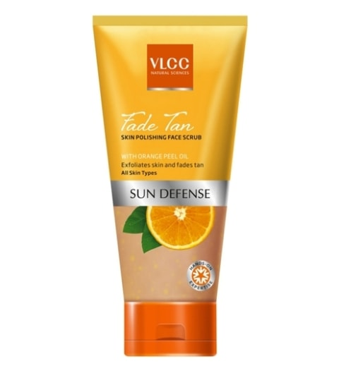 Best Scrubs To Remove Sun Tan - VLCC Fade Tan Skin Polishing Face Scrub