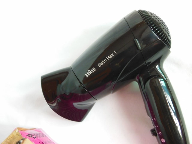 Braun Hair Satin 1 Style and Go Hair Dryer