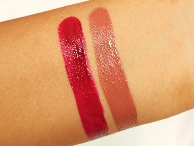 Ellis Faas Creamy Lip Colors Swatches 2