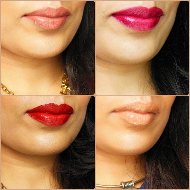Ellis Faas Lip Color Lip Swatches