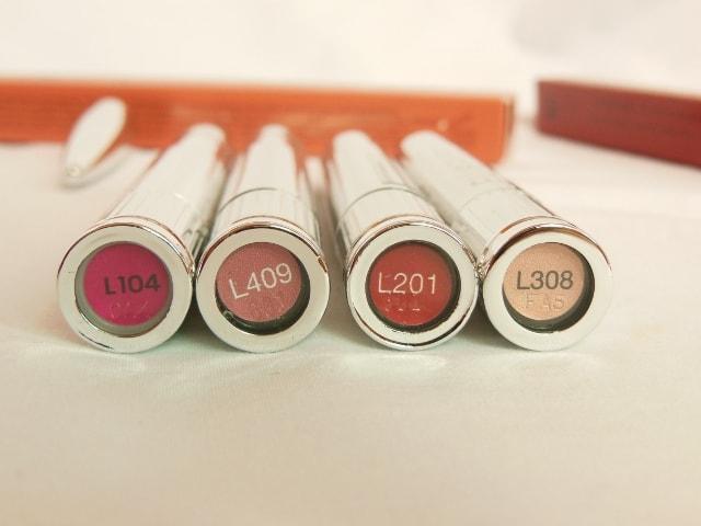 Ellis Faas Lip Color Shades