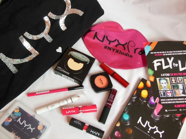 NYX Cosmetics India Launch Details
