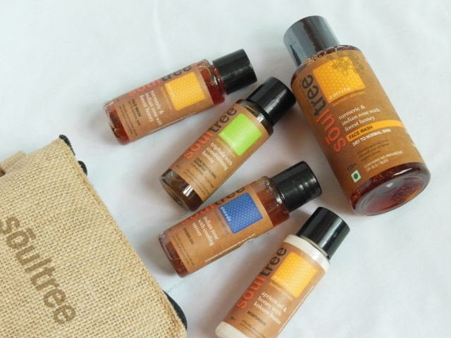 Soultree Skincare Travel Kit