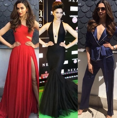 5 Best Dressed Celebrities at IIFA 2016 - Deepika Padukone looks