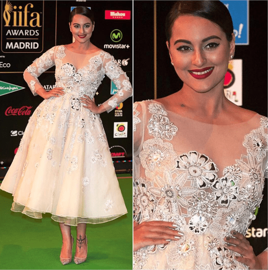 5 Best Dressed Celebrities at IIFA 2016 -Sonakshi Sinha 1
