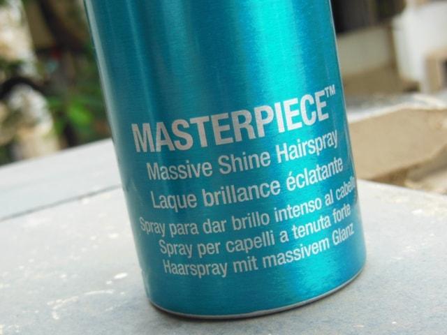 Bed Head Masterpiece Massive Shine Hairspray