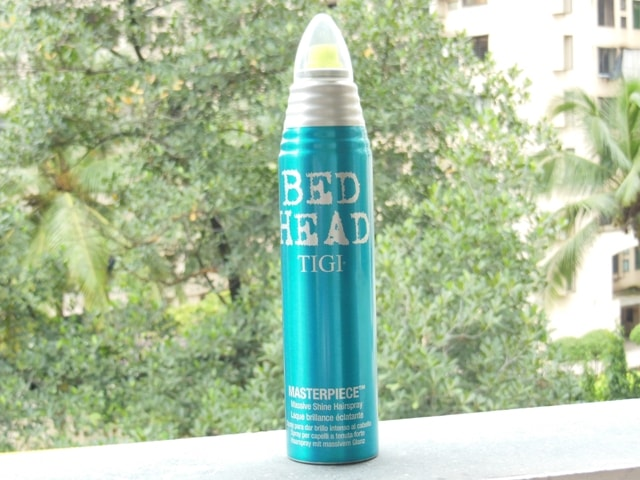 Bed Head TIGI Masterpiece Masive Shine Hairspray Review