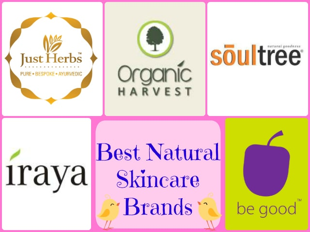 Best Natural SKincare Brands in India