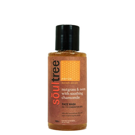 Best Neem Based Natural Face Washes Soultree Nutgrass and Neem face wash