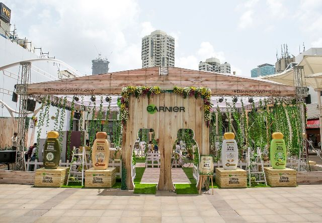 Garnier Ultra Blends Hair Care Launch