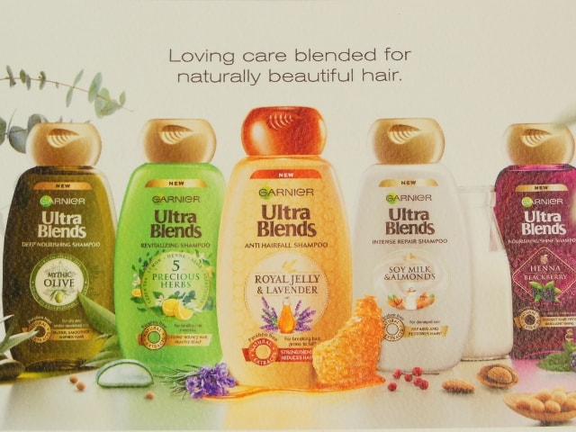 Garnier Ultra Blends Shampoo Collection