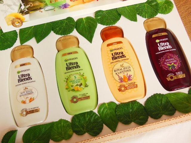 Garnier Ultra Blends Shampoo Range Review