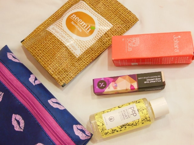 July Fab Bag 2016 Contents