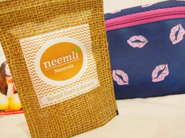 July Fab Bag 2016 Review- Neemli Bengal Gram Exfoliator