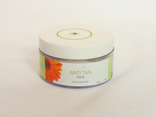 Organic Harvest Anti Tan Mask Jar