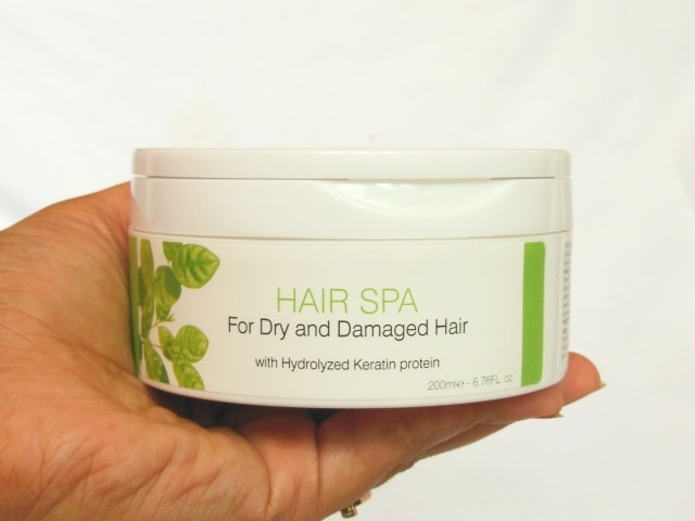 Organic Harvest Hair Spa for Dry and Damaged Hair