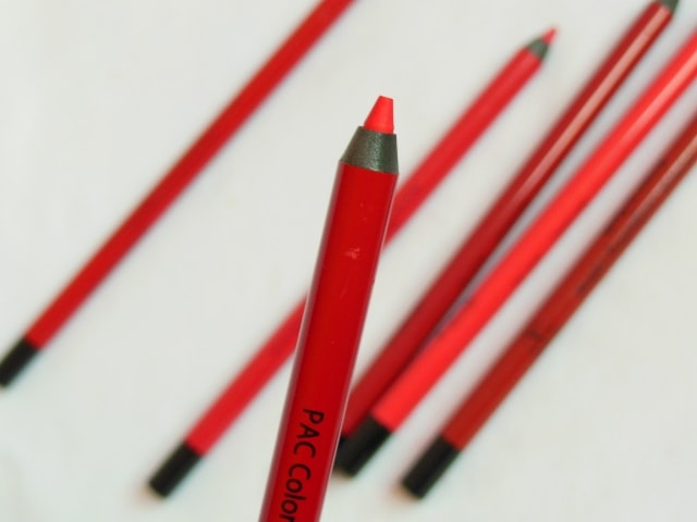 PAC Colorlock Lip Liner - Red Set Go