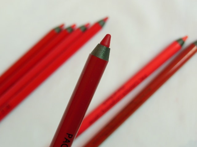 PAC Colorlock Lip Liner - Ripley red