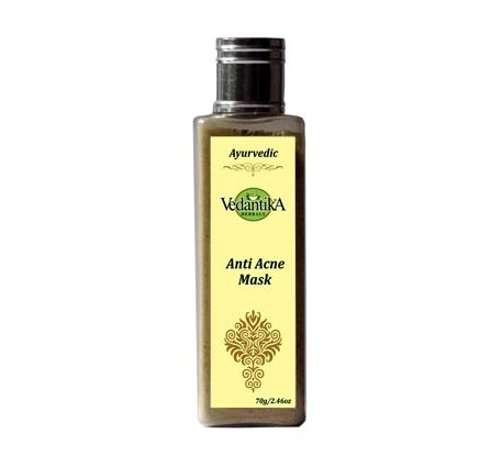 Best Herbal Face Packs for Oily Acne Prone Skin -Vedantika Herbals Anti Acne Mask