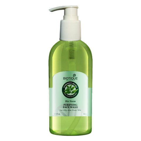 Best Neem Based Natural Face Washes - Biotique Bio Neem Face Wash