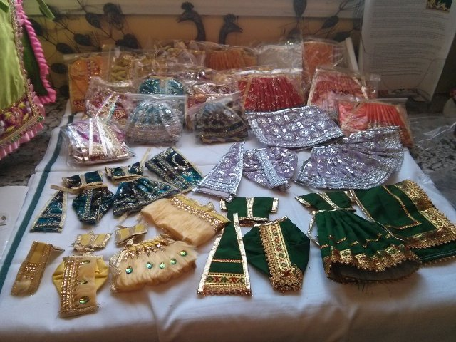 How to celebrate Janamashtami - Shopping for dieties