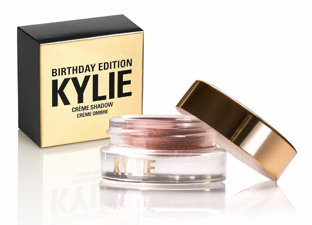 Kylie Birthday Edition Creme Shadow Rose Gold