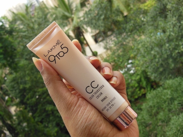 Lakme 9 to 5 Color Transform CC CReam Bronze Review